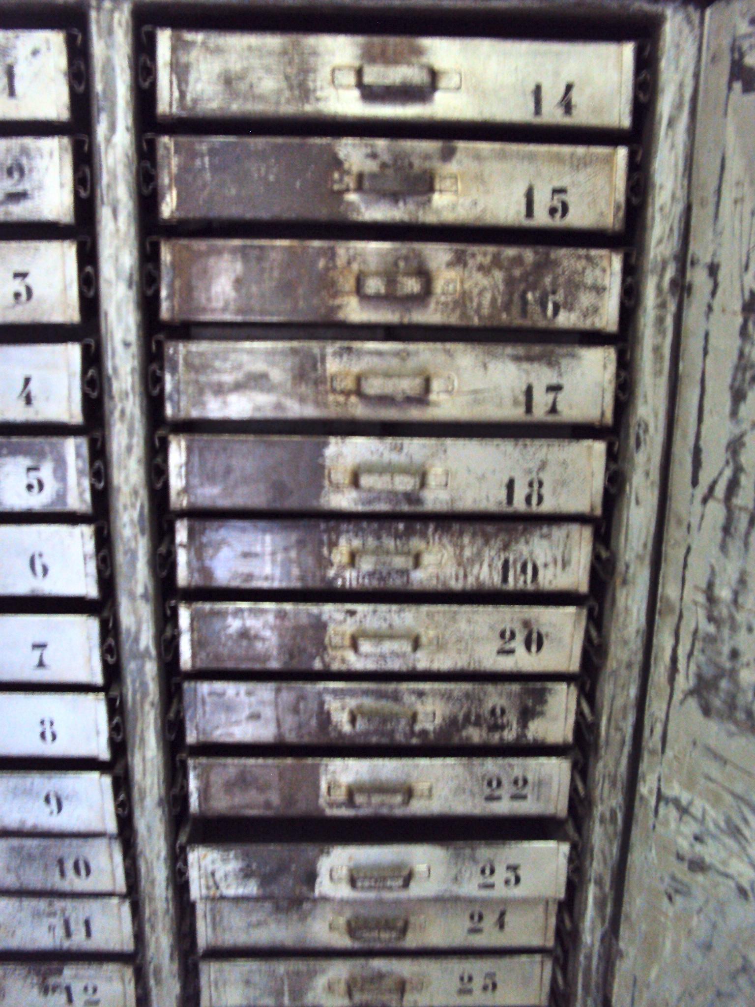 Armadio industriale officina 26 cassetti   neoretrò