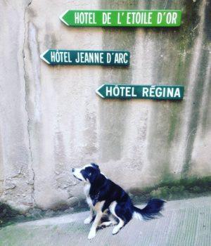 TARGHE DIREZIONALI DI HOTEL FRANCESI
