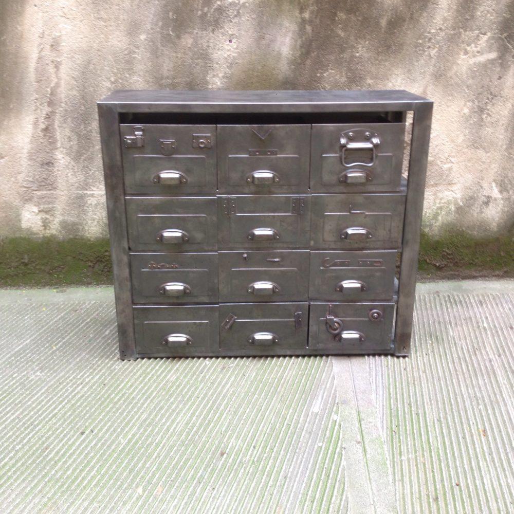 cassettiera archivi neoretr