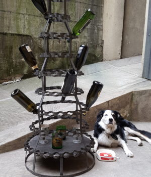 Porta bottiglie metodo Champenoise