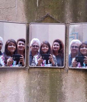 Specchio da barbiere anni '40