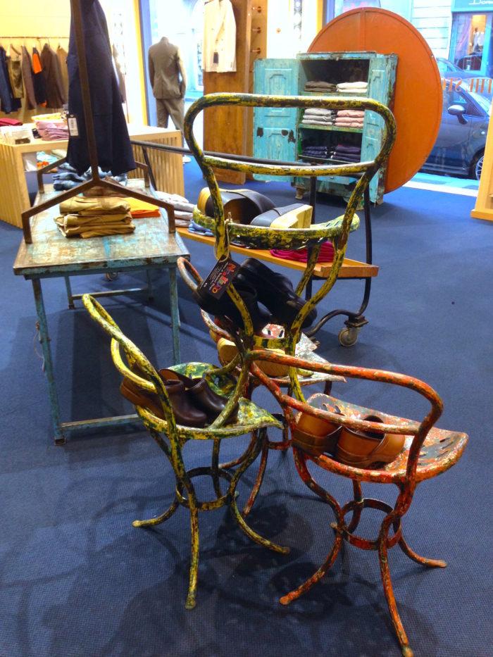 Store Styling, allestimento, noleggio sedie di design