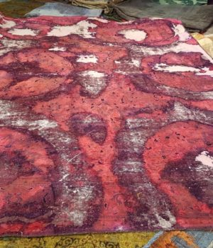Vintage Reloaded Carpet_'Moulin Rouge', tappeto vintage, tappeto, persiano