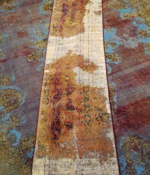 Vintage Reloaded Carpet_Vintage Reloaded Carpet_'Entrée', passatoia, tappeto, tappeti, tappeto vintage, persiano