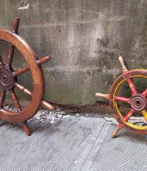 Vecchi Timoni anni '30/'40, nautica vintage
