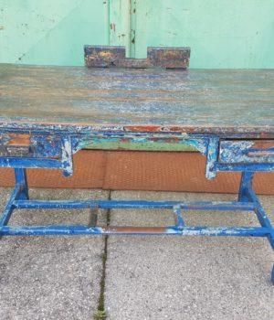 Tavolo Scrivania legno in patina, wood table