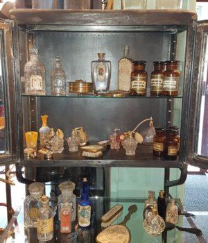 Belletti, bottiglie da Farmacia e varie in vetro