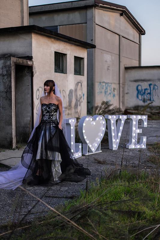 L<3VE LUMINOSO CON CUORE (vedi sezione 'Wedding Service')