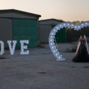 LOVE LUMINOSO (vedi sezione 'Wedding Service')