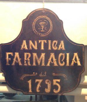 INSEGNA ANTICA FARMACIA