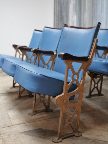 Sedie Da Cinema Vintage.Poltrone Da Teatro Vittoriano Neoretro