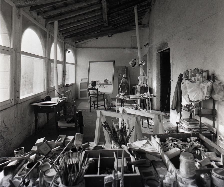 artistaatelier.Aldo-MondinoParigi-1973