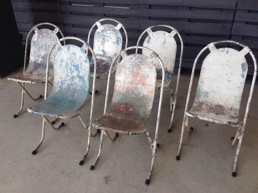 Sedie In Ferro Vintage.Sedie Ferro Stak A Bye Prima Serie Neoretro