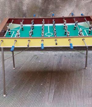 Calcio Balilla Inter Juve anni '60, calcetto, biliardino vintage