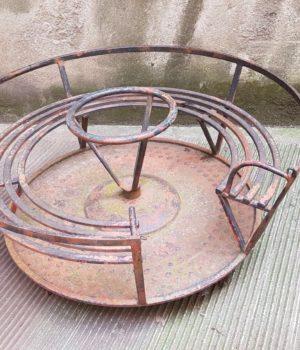 Giostrina Asilo girevole anni '40, giochi vintage, giostre