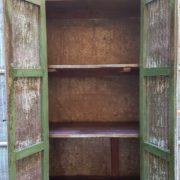 Armadio Dispensa legno e ferro, credenza cucina