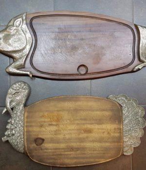 Vassoi Vintage a forma di animali, accessori cucina