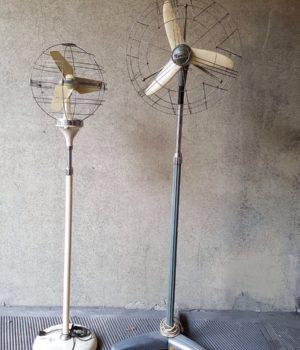 Ventilatori da terra Vintage_Marca Zodiaco e Marelli