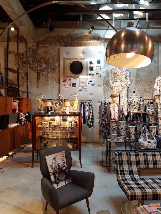 Store styling, allestimento vintage, noleggio arredi milano, NeoRetrò