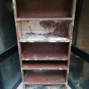 Libreria Archivio in ferro, mobile industriale