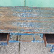 Tavolo Scrivania legno in patina, wood table