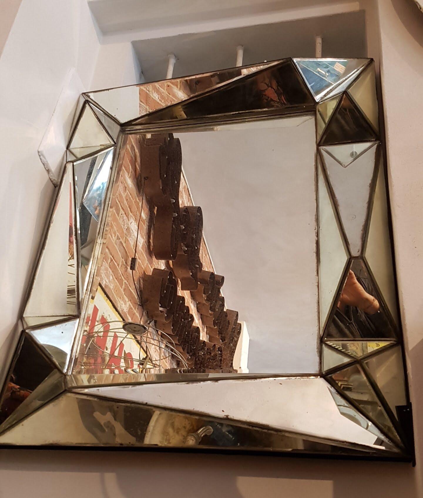 Specchio diamante neoretr - Specchi pubblicitari vintage ...
