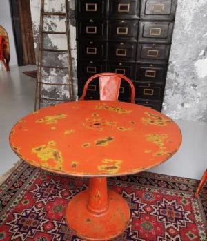 Tavolo tondo originale Tolix