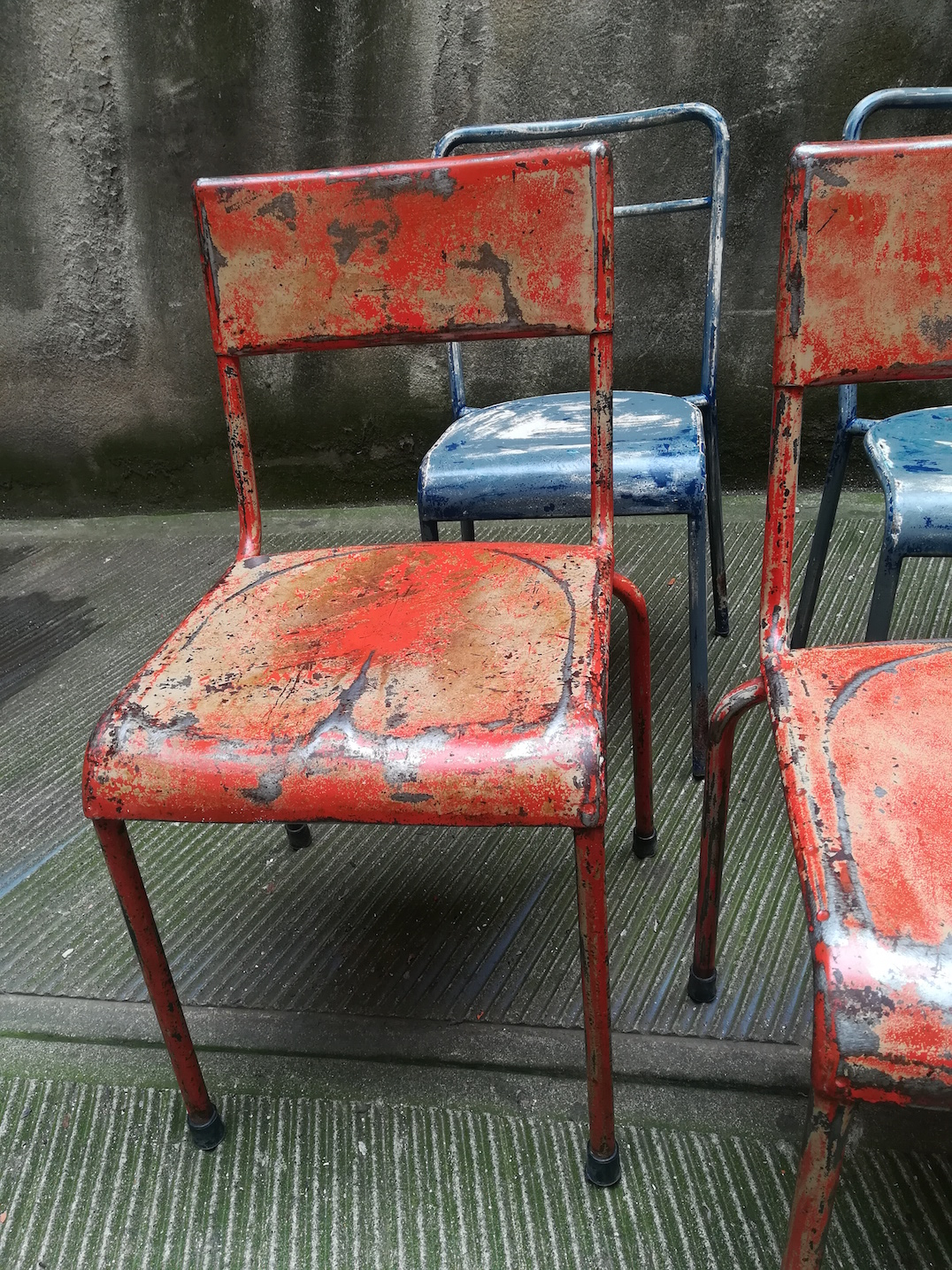 Sedie In Ferro Vintage