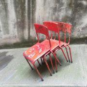 Sedie ferro patinate Vecchia Osteria