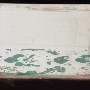 Specchio Anticato cornice 'persiana'