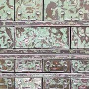 Cassettiera ferro Patinata