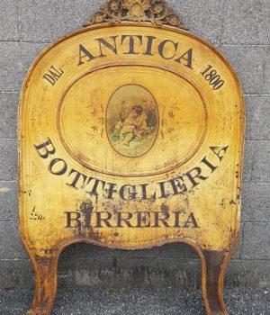 Insegna Antica Bottiglieria