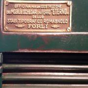 Schedario da tipografo Forlì