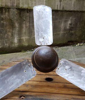 Ventilatore vintage ferro da sospensione