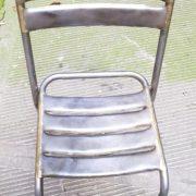 Sedie da bistrot in ferro