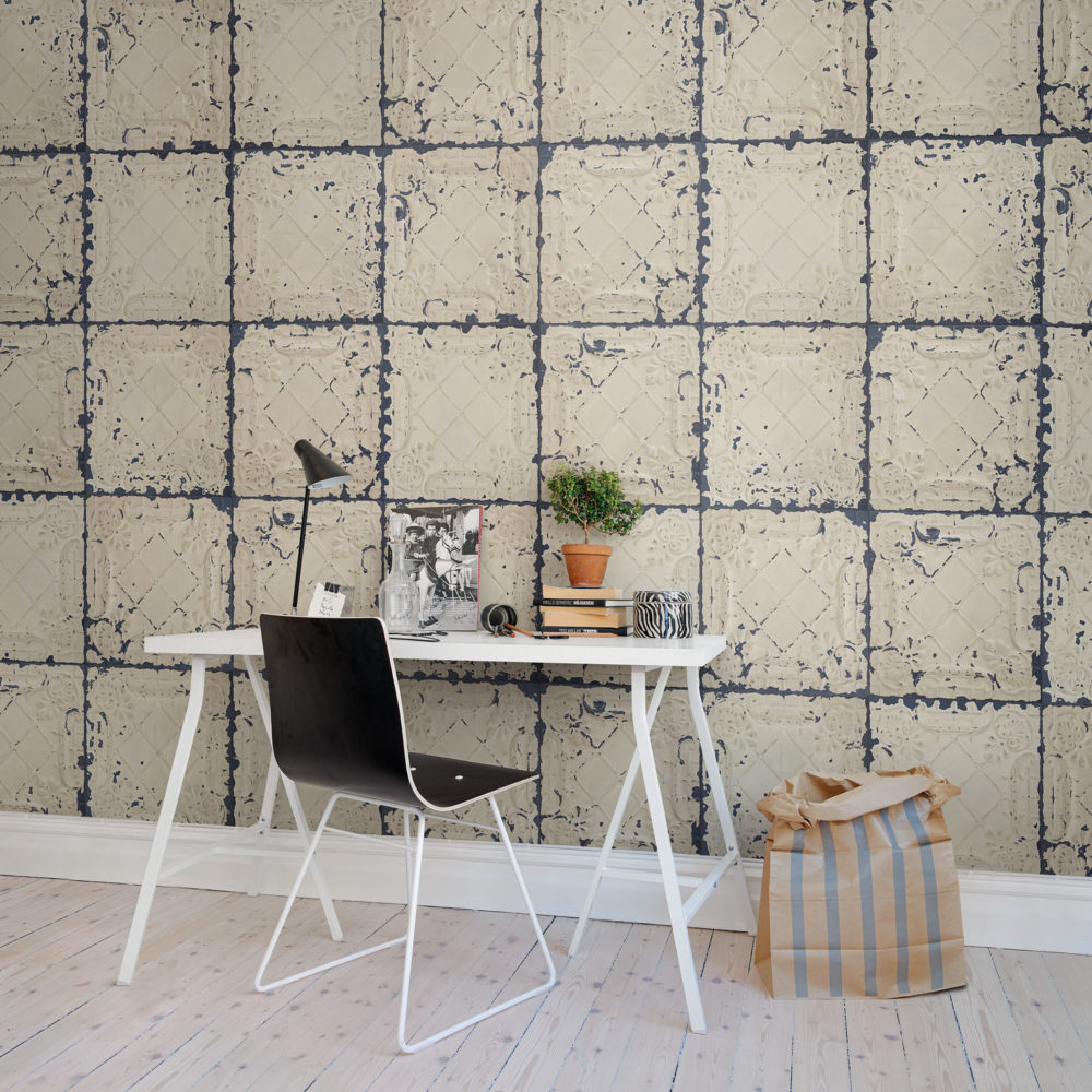 Tin White Plates_Rebel Walls