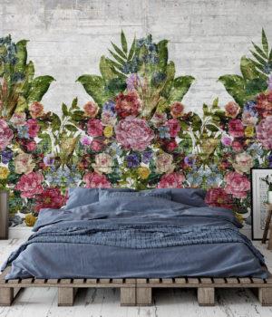 Flower wall Textur Wallpaper