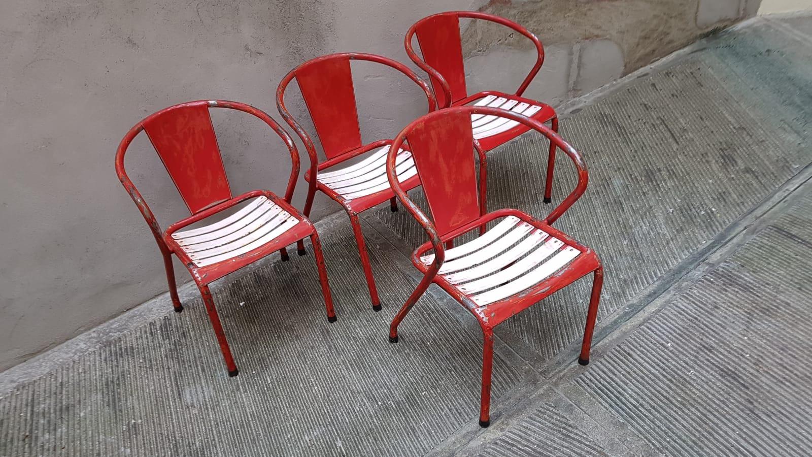 sedie originali tolix modelli t5 e t2 neoretr