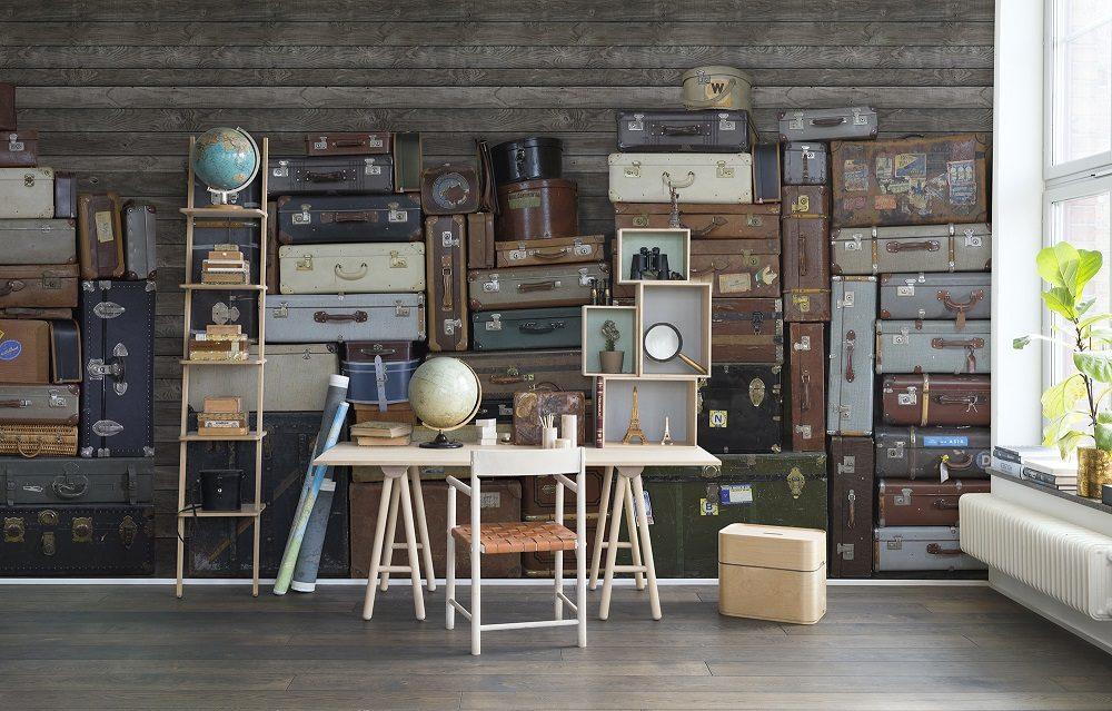 Vintage Luggages_Rebel Walls