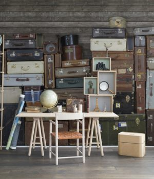 Vintage Luggages_Rebel Walls