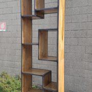 Libreria Scaffalatura in ferro e legno