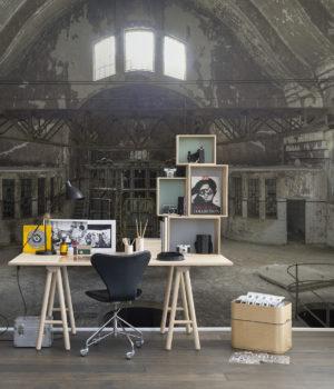 Industrial Interior Wallpaper