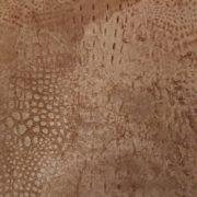 Poltrona anni '30 pelle stampa coccodrillo