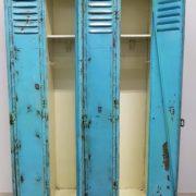 Coppia di Armadietti Azzurri, anni '30