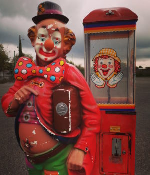 Clown distributore 'Boules'