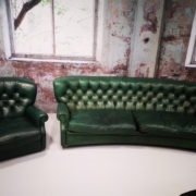 Salotto Chesterfield Verde