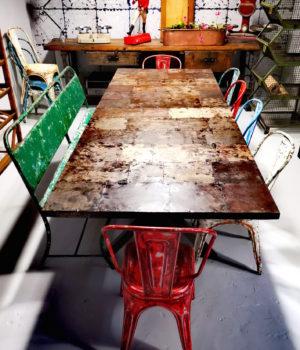 Tavolo ferro Upcycling