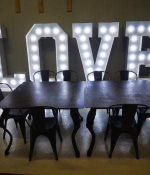 Scritta Luminosa Love