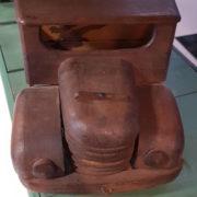 Camioncino giocattolo legno
