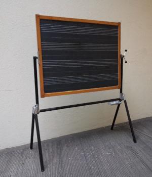 Lavagna scolastica musicale anni'60
